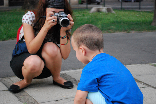 Photographing Kid