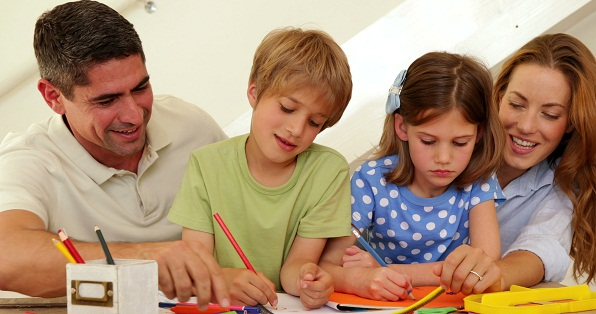 family drawing activity