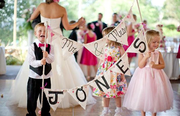 kid friendlyl wedding