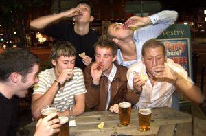 teen-drinkers